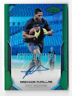 RAEKWON McMILLAN 2017 PANINI CERTIFIED POTENTIAL EMERALD GREEN AUTO # 5 Dolphins