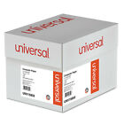 UNIVERSAL Green Bar Computer Paper 15lb 14 7 8 x 11 Perforated Margins 3000