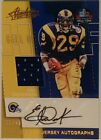 ERIC DICKERSON 2017 Absolute Game Worn Patch Auto 21 49 Rams HoF SMU