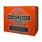 2016 17 Leaf Best Of Basketball Unopened Edition Factory Sealed Hobby Box