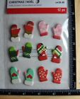 Recollections MITTENS Stickers WINTER FUN