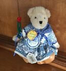 MUFFY VanderBear BEAR DUTCH TREAT Retired Collection Wooden Shoes Plush 8 Tag