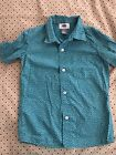 Old Navy Boys Printed Button Down Sz XS