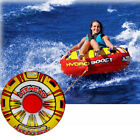 AIRHEAD Hydro Boost Inflatable 54 Float Water Tube 1 Rider Boat Towable Lake