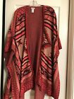 Womens ONE SIZE FITS ALL Shawl NEVER WORN EXCELLENT CONDITION