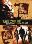 Rob Zombie 3 Disc Collectors Set DVD Used Like New