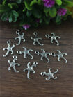 NEW Wholesale 16pcs Tibet silver Starfish Charm Pendant beaded Jewelry Findings
