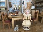 Victorian German Kitchen dollhouse Puppen MUSEUM Theriaults roombox provenance