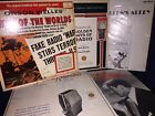 COLLECTIBLE VINYL LP LOT ORSON WELLES And Others RADIO BROADCASTS Records
