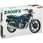 Aoshima Naked Bike 04 Kawasaki Z400FX 1/12 scale kit Japan new.