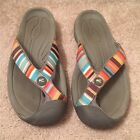Keen Waimea H2 Flip Flops Multi Striped Womens 9540 EU