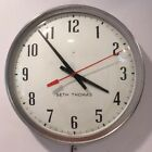 VTG NOS 1970 Seth Thomas SS18D Manager Industrial School Electric 14 Wall Clock