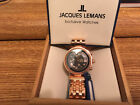 jacques lemans automatic chronograph watch NEW SWISS MADE