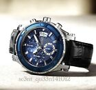 AUTHENTIC GUESS MEN'S CHRONOGRAPH WATCH ICONIC 0673G4 RRP: $449 New