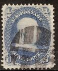 US Stamp Sc63 used VF with Fancy Cork Cancel