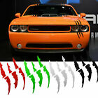 Monster Claws Headlight Scratch Decal Universal Fit Mustang Camaro Dodge Bmw Etc