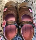 Girls Jumping Jacks Leather Shoes Size 11W