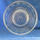 QUEEN ANNE GLASBAKE Tube Bundt Pan Gelatin Ring Mold  Depression Glass Clear VTG