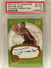 DWYANE WADE 2003 ROOKIE UD TPL. DIMENSIONS STANDOUT SIG AUTO 22 100 PSA 10