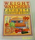WEIGHT WATCHERS FAVORITE HOMESTYLE RECIPES  250 Recipes  Fully Illustrated