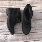 Roxy Allston Navy Blue Ankle Boots Womens Size 8 Slouchy Fall Casual