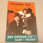 The Lone Wolf Spy Hunt William Vtg 1939 Danish Movie Novel EVA Lille Filmroman