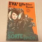 The Spy in Black Hobson Veidt Vtg 1939 Danish Movie Novel EVA Lille Filmroman