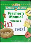 SAXON PHONICS SPELLING 1 TEACHER EDITION GRADE 1 VOL 2 2006 Hardcover NEW