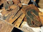 Rusted Steel Letters  Numbers Price per letter with Free Shipping