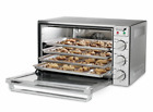 Waring Commercial Half Size Stainless Steel Convection Oven 1.5 cu-ft 120V