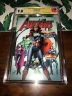 AVENGERS #8✳️CAMPBELL CAPTAIN MARY JANE VARIANT✳️SIGNED STAN LEE✳️CGC SS 9.8✳️