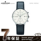 Max Bill by Junghans Chronoscope Automatic made in Germany cream 027 4600 00