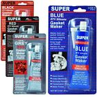 SILICONE INSTANT GASKET MAKER RED HIGH TEMP SEALANT 85G TUBE BLACK RED BLUE