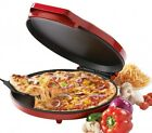 Nonstick Baking Pizza Maker Quesadilla Frittata Cooker Red Kitchen Appliance NEW
