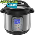 Instant Pot DUO Plus 6 Qt 9-in-1 Multi- Use Programmable Pressure Cooker, Slow C