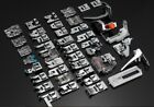 1 Set 42 PCS Sewing Machine Foot Presser Feet Kit Multifunction Sewing Machine