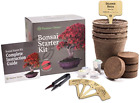 The Complete Bonsai Starter Kit Easy Grow 4 Bonsai Trees from Seed Gift Idea