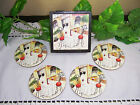 Set of 4 TRACY FLICKINGER Bistro Paris France European