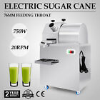 Electric Stainless Steel Juicer Sugar Cane Ginger Press Juicer Juice Machine 304