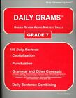 DAILY GRAMS GUIDED REVIEW AIDING MASTERY SKILLS GRADE 7 By Phillips Wanda C NEW