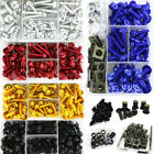 Complete Fairing Bolt Screws Kit For Kawasaki Ninja ZX6R ZX7R ZX9R ZX10R ZX-11