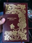 EASTON PRESS LEATHER EDITION ROMEO AND JULIET BY SHAKESPEARE