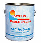 CRC Chlorinated Rubber Based Swimming Pool Paint WHITE 1 Gallon