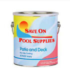 Save On Pool Supplies Swimming Concrete Deck  Patio Paint IVORY 1 Gallon