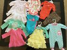 14 piece LOT of baby girl fall clothes size 6 months NEW Carters Little Me