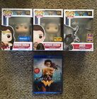 Funko Pop! Wonder Woman Exclusives Hot Topic Lot Walmart with Ares