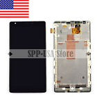 For Nokia Lumia 1520 LCD Display Touch Screen Digitizer Assembly + Frame US