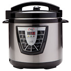 8 Qt Instant Pot Programmable Slow Cooker Pressure Rice Electric Stainless Quart