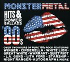 MONSTER METAL HITS POWER BALLADS - V/A - 2 CD - COMPILATION - **SEALED/ NEW**