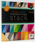 DCWV Double Sided Cardstock Stack Textured 58 Sheets 12 x 12 inches